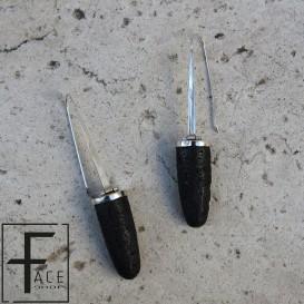 Orecchini cilindro in pietra lavica con gancio in argento