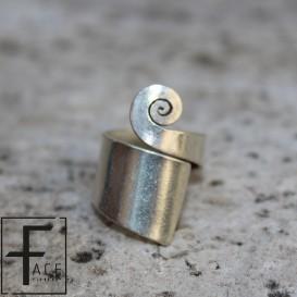 Anello spirale a fascia