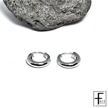 Orecchino semicerchio in argento 925