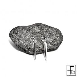 Orecchino cono in argento 925