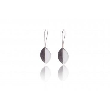 Orecchini in pietra lavica e argento 925 - LOR17