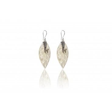 Orecchini in madreperla e argento 925 - MOR2